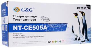 Картридж лазерный G&G NT-CE505A