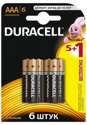 Батарейка Duracell Basic LR03-6BL