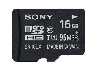 Карта памяти Sony SR16UXAT microSDHC 16 Гб