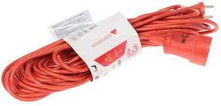 Удлинитель силовой Эра UP-1-2x1.0-20m оранжевый