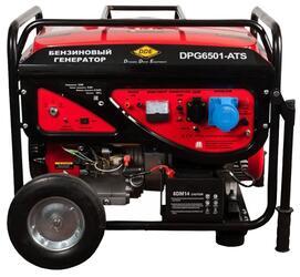 Бензиновый электрогенератор DDE DPG6501E-ATS
