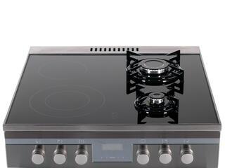 Комбинированная плита Hansa FCMX68285 серебристый