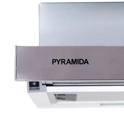 Вытяжка встраиваемая Pyramida TL 60 SLIM IX серебристый