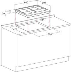 Газовая варочная поверхность Hotpoint-Ariston PC 640 T (AN) R/HA