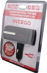 Разветвитель автоприкуривателя Intego C-09