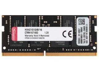 Оперативная память SODIMM Kingston HyperX Impact [HX421S13IB/16] 16 ГБ