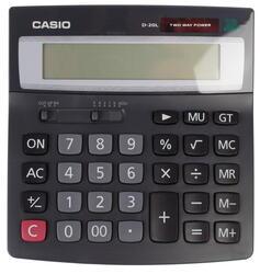 Калькулятор бухгалтерский Casio D-20L-SA-GH