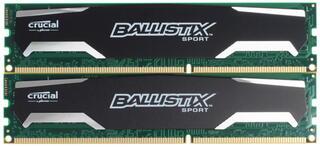 Оперативная память CRUCIAL Ballistix Sport [BLS2CP4G3D1609DS1S00CEU] 8 ГБ