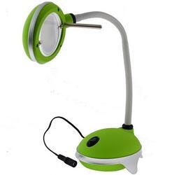 Настольный светильник Camelion KD-782 C05 серебристый, зеленый