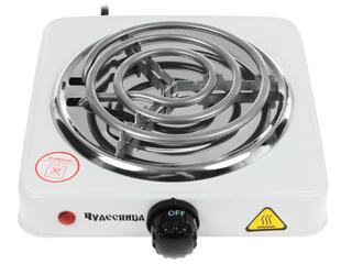 Плитка электрическая Чудесница ЭЛП-801 белый