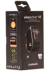 Фитнес-браслет Garmin vivoactive HR черный