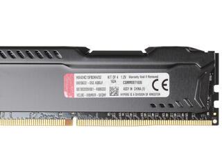 Оперативная память Kingston HyperX FURY [HX424C15FB2K4/32] 32 ГБ