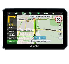 GPS навигатор Dunobil Ultra 5.0