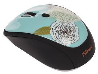 Мышь беспроводная Trust Yvi Wireless Flower