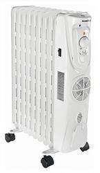 Масляный радиатор Орбита ОР-2009 F белый