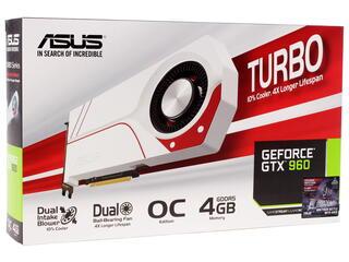 Видеокарта ASUS GeForce GTX 960 TURBO OC [TURBO-GTX960-OC-4GD5]