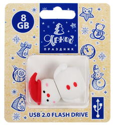 Память USB Flash Снеговичок 8 Гб