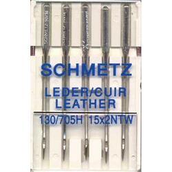 Иглы для шитья SCHMETZ №80-100 кожа