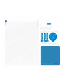 Чехол-подставка Ultra Cover PU и защитная пленка для Apple iPad mini, белый, Deppa