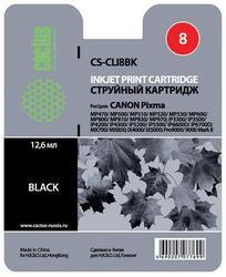 Картридж струйный Cactus CS-CLI8BK