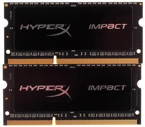 Оперативная память SODIMM Kingston HyperX Impact [HX318LS11IBK2/16] 16 ГБ