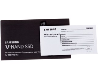 512 Гб SSD M.2 накопитель Samsung 950 PRO [MZ-V5P512BW]