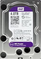 4 Тб Жесткий диск WD Purple IntelliPower [WD40PURX]