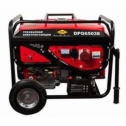 Бензиновый электрогенератор DDE DPG6503E