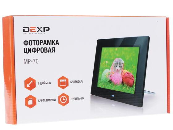 7'' Фоторамка DEXP MP-70