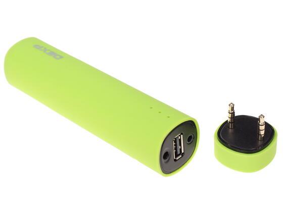 Портативная колонка DEXP Tube зеленый
