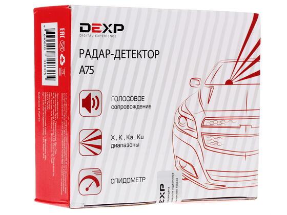 Радар-детектор DEXP A75