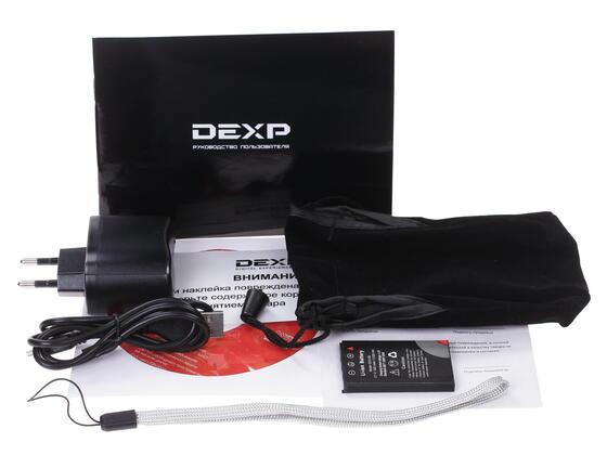 Компактная камера DEXP DC5100 красный
