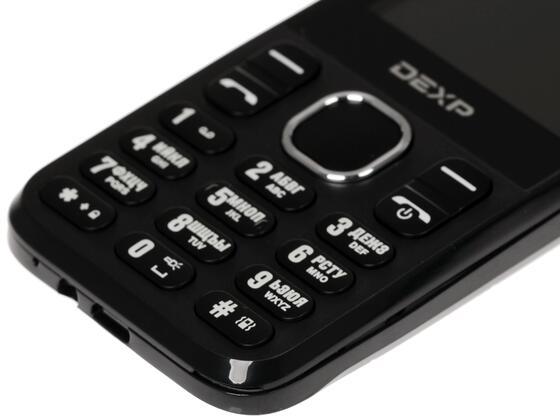 Сотовый телефон DEXP Larus C5 черный