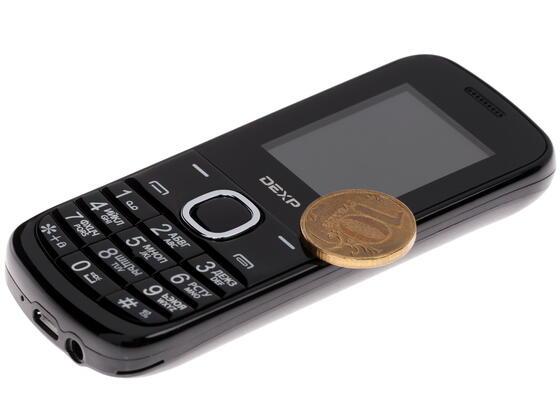 Сотовый телефон DEXP Larus C3 черный