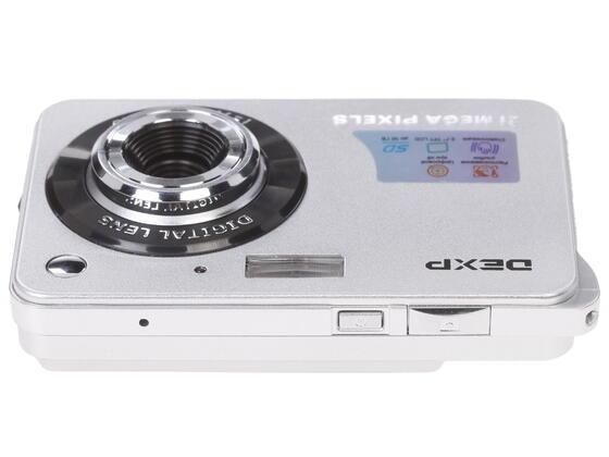 Компактная камера DEXP DC5100 серебристый