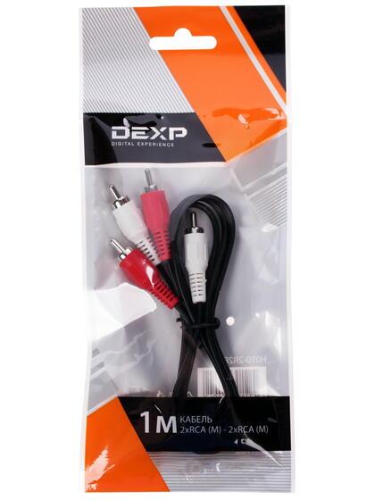 Кабель соединительный DEXP RCA x2 - RCA x2