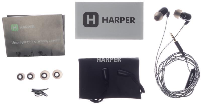инструкция наушников harper 400