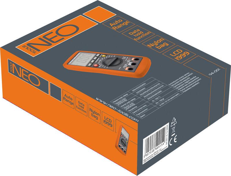 мультиметр Neo 94-001 инструкция - фото 6