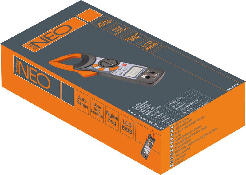 мультиметр Neo 94-001 инструкция - фото 7