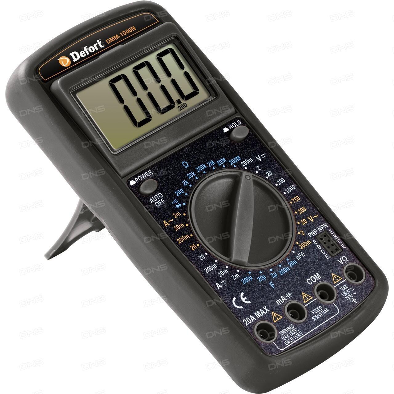Мультиметр Defort DMM-600N 98298130