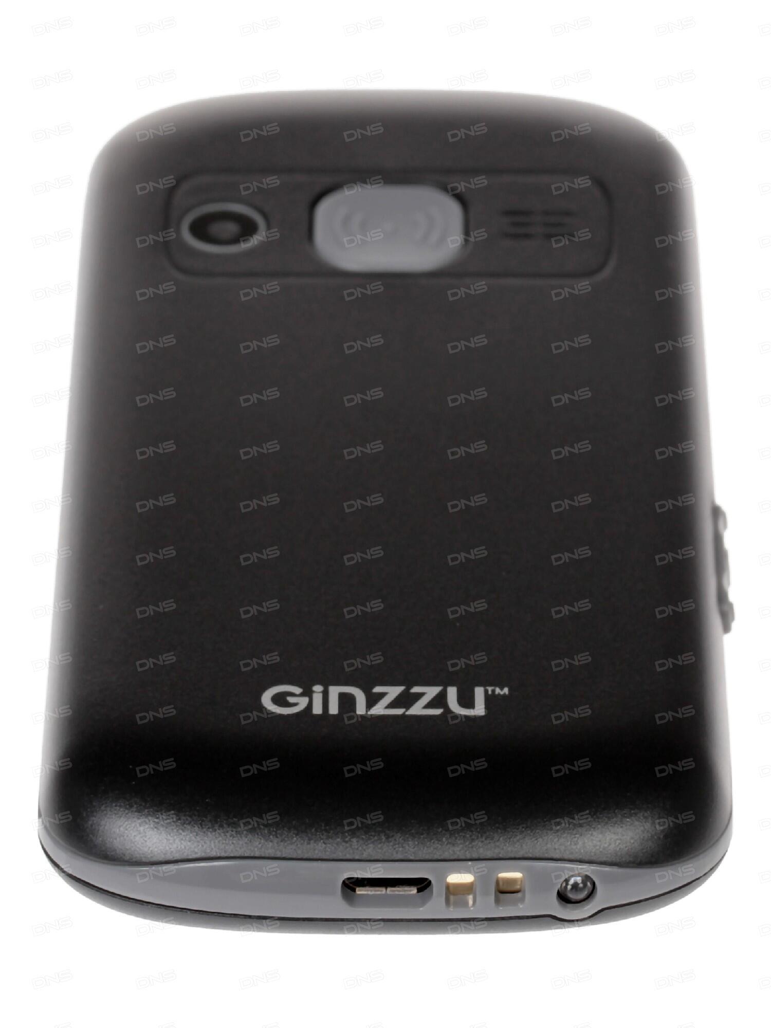 Сотовый телефон Ginzzu RS95 DUAL Black