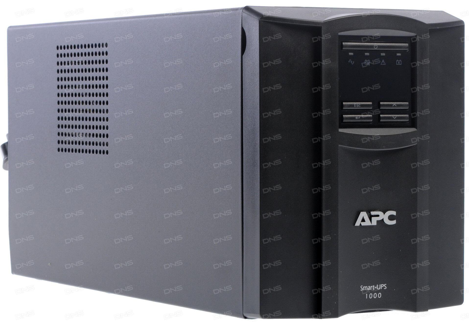 ИБП APC SMT1000I Smart-UPS 1000VA/670W LCD