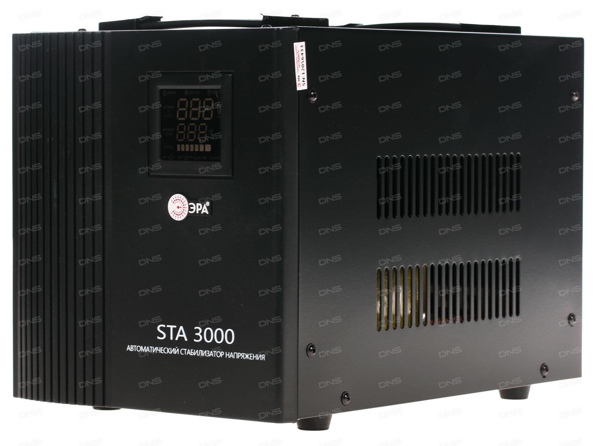 Стабилизатор Эра STA-3000 3000WA C0036573
