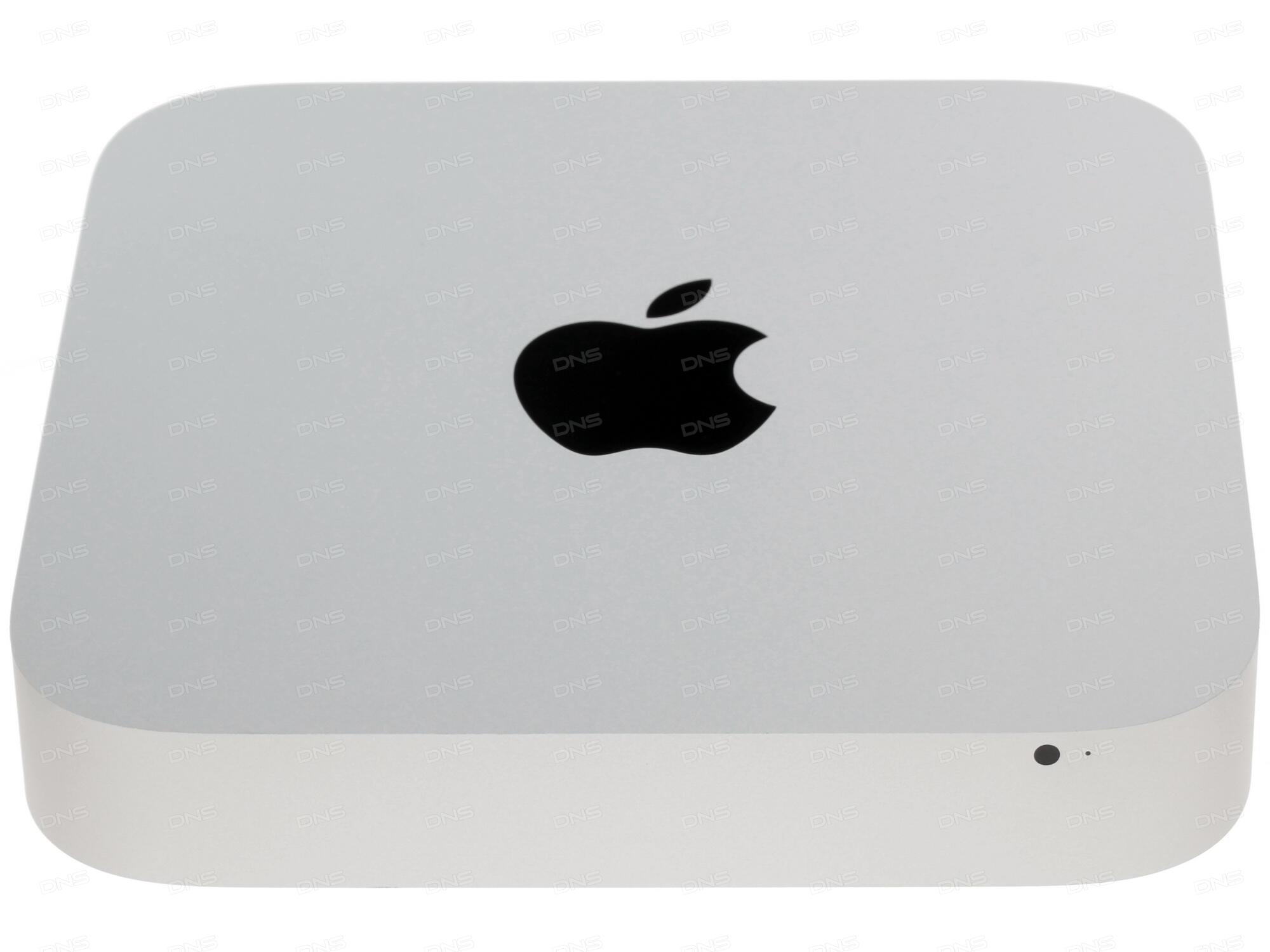 Неттоп APPLE Mac Mini Silver MGEQ2RU/A (Intel Core i5 2.8 GHz/8192Mb/1000Gb/NO ODD/Intel Iris Graphics/Wi-Fi/Bluetooth/HDMI/Mac OS X)