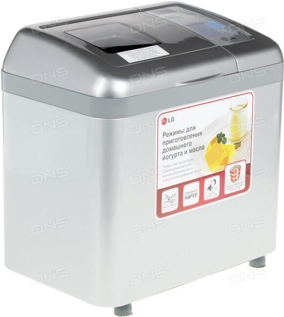 Купить Хлебопечь LG HB-1002CJ серый в интернет магазине DNS. Характеристики, цена LG HB-1002CJ 0141405