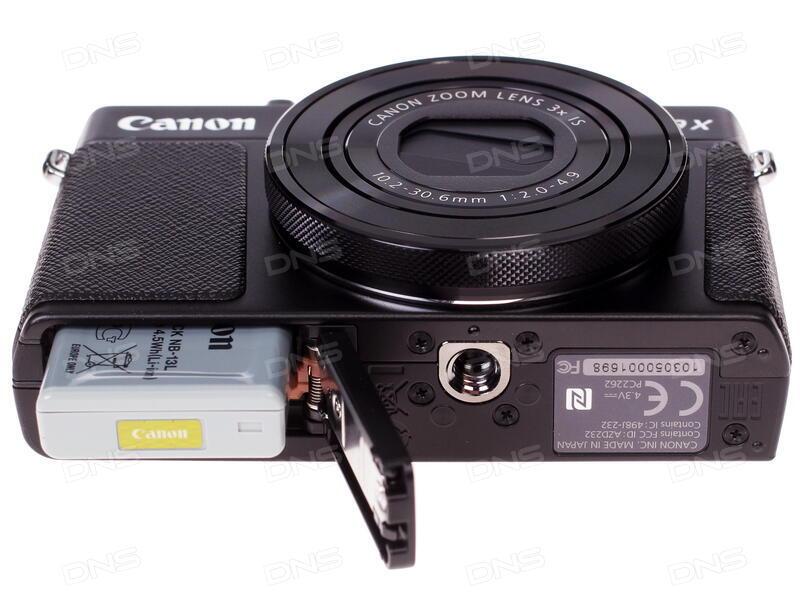 инструкция Canon G9x - фото 7