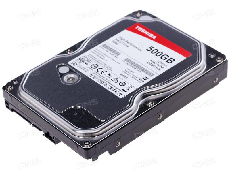 "HDD 3.5"" High Performance ... 500GB P300 Toshiba (HDWD105UZSVA"