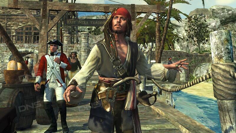 Играть в игру пираты карибского моря