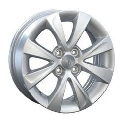 Автомобильный диск литой Replay LF8 6x15 4/100 ET 45 DIA 54,1 Sil