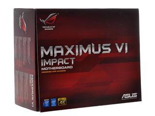 Плата Asus MAXIMUS VI IMPACT Socket-1150 Intel Z87 DDR3 mini-ITX AC`97 8ch(7.1) GbLAN SATA6 eSATA RAID+HDMI